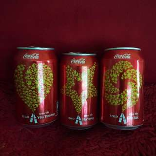 Coke Vietnam TET edition collection