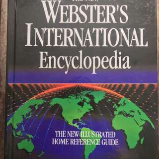 The New Webster's International Encyclopedia