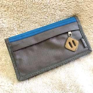Dude Nylon Basic Trifold Long Wallet