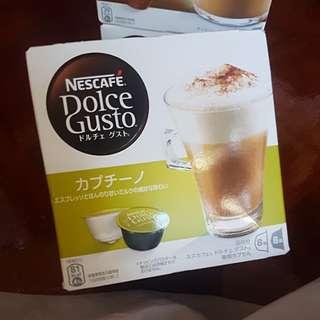 日版 Nescafe Capsule Cappuccino