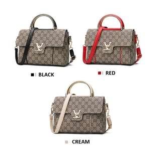 Fashion Retro Pattern Printing Shoulder Bag