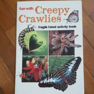 Fun With Creepy Crawlies (Activity book for kids)