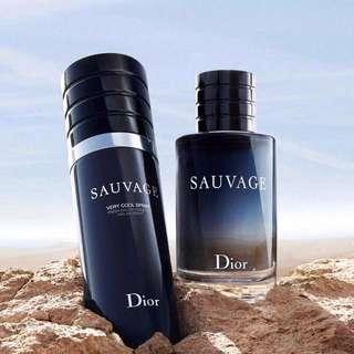 Brand New Dior Sauvage 100ml VERY COOL SPRAY FRESH EDT