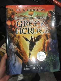 Percy Jackson Greek Heroes