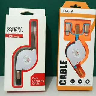 USB CABLE 3in1 and 2in1