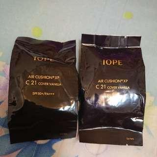 🚚 【免運】IOPE 水潤光感舒芙蕾粉凝乳XP/氣墊粉餅 SPF50+/PA+++ C21