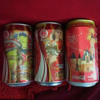 Special edition China Coke cans