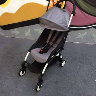 Little Bean Compact Stroller (Grey)