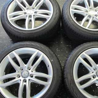 Mercedes Benz C250 alloy sport rims