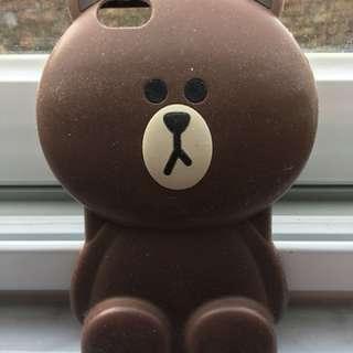 Line熊大 6S I-phone case