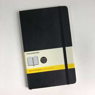 moleskine squared softcover large notebook