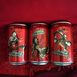 Malaysia Special edition Coke cans