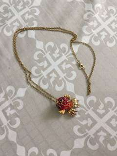Gold Chain Necklace Accesory