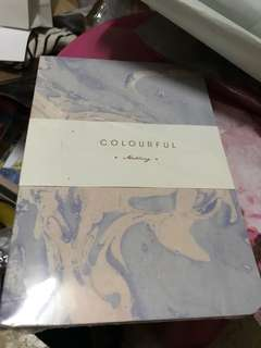 Watercolor notebook