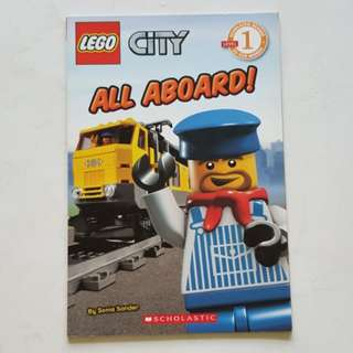 1502 NEW Scholastic Lego City All Aboard!