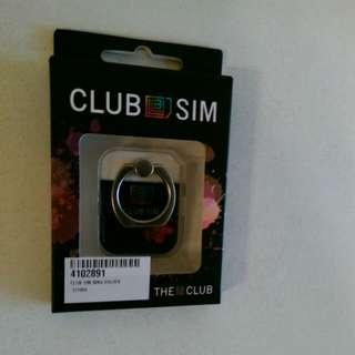 Club sim 手機指環