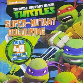 TMNT Colouring Book