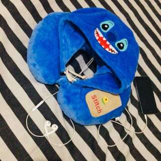 Stitch Pillow Hoodie (neck pillow)