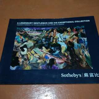 Sotheby's Katalog lelang lukisan