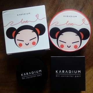 Karadium Pucca Milky Primer + Karadium Oil Pact <3