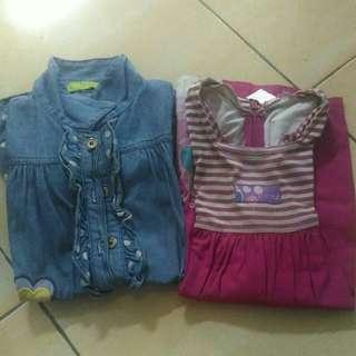 Dress anak 2-3thn