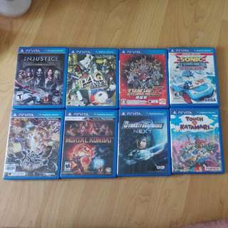 PS Vita games for sell