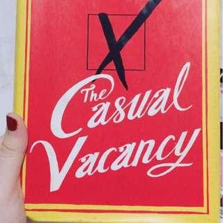 The Casual Vancancy