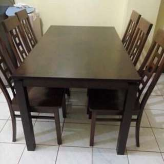 Dining Set - 6 sitters