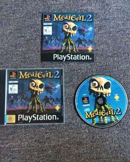 Ps1 game 'Medievil 2'