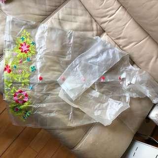 La Campagine des Petits girl's raincoat 女童雨褸 6碼