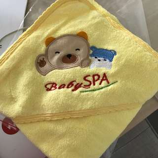 BN Baby hooded bath towel