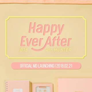 [GROUP ORDER] BTS 4TH MUSTER (HAPPY EVER AFTER) OFFICIAL MD