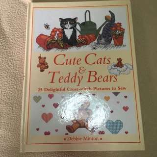 Cats and Teddy Bears Cross Stitch Patterns