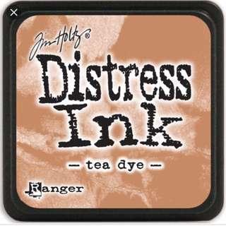 [BRAND NEW] Distress Ink Tea Dye