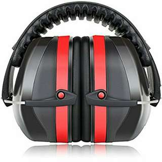 Fnova 34dB Highest NRR Safety Ear Muffs - Professional Ear Defenders for Shooting, Adjustable Headband Ear Protection / Shooting Hearing Protector Earmuffs Fits Adults to Kids