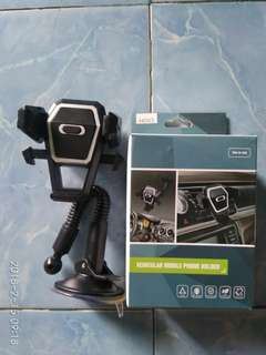 Holder hp di mobil leher angsa