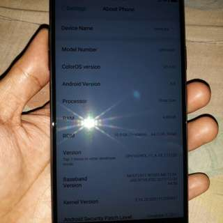 Oppo F3 64GB Black NTC Sale or Swap
