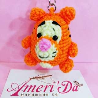 6cm crochet doll