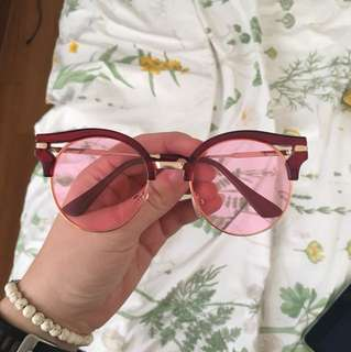 Tinted glasses