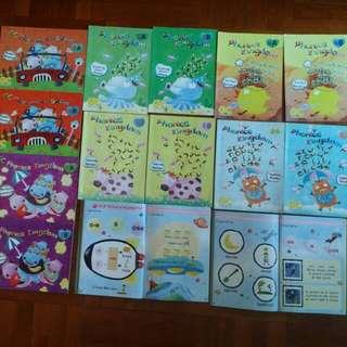 14本 Phonics children books (*連CD & VCD)