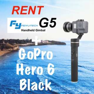 RENT GoPro G5 Gimbal Combo