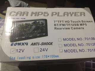 car mp5 player