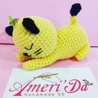 10cm crochet doll