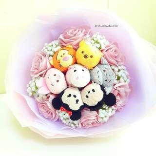 Tsum Tsum Plush Toy Bouquet Customisation