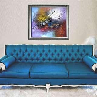 Original Abstract Paintings Online | Model : P013 - Buy Online