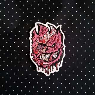 Monster Sticker (A3)