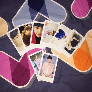 Scoups unofficial photocards (set)