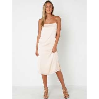 Lulu & Rose Bowie Cami Midi Slip Dress