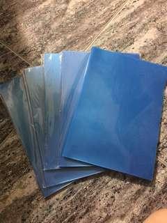 <Clearance> Blue L-folder