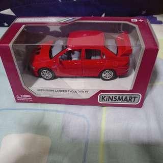 Kinsmart Mitsubishi Lancer Evolution 7 Die Cast